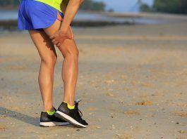 Desgarro muscular en corredores