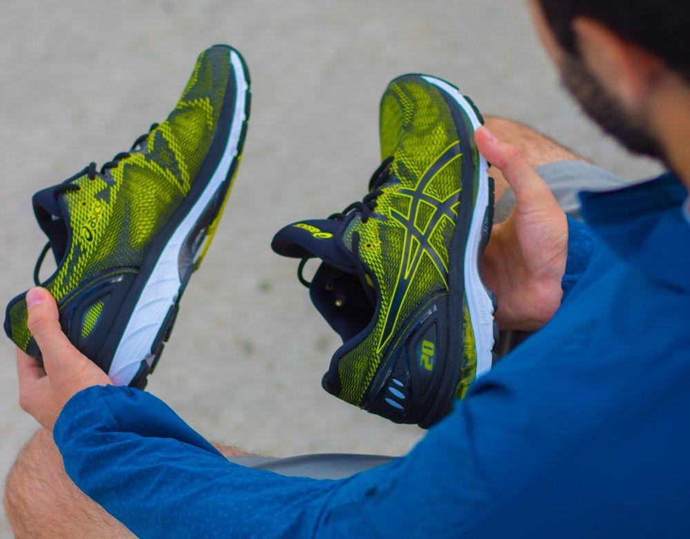 asics gel nimbus 20 hombre running