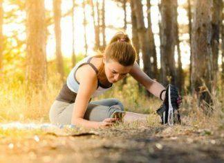 Runner iniciando a correr