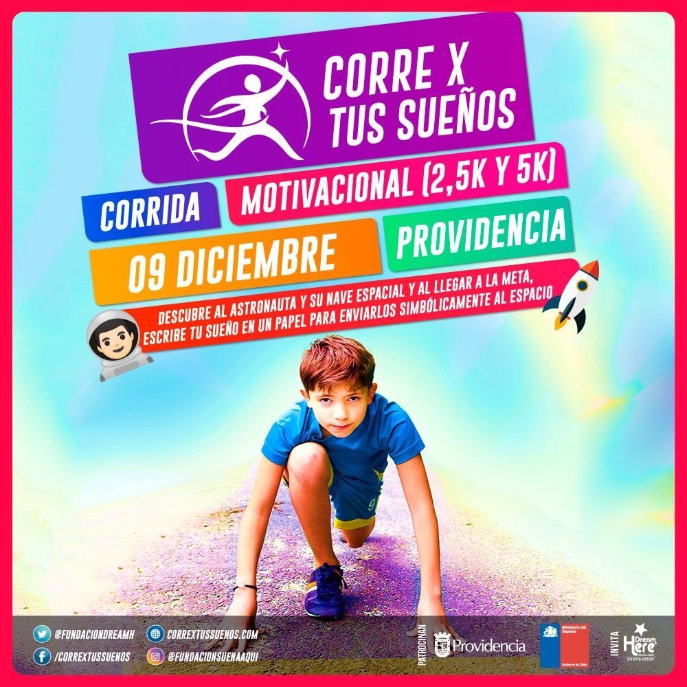 Corrida Corre X Tus Sueños Runners Chile
