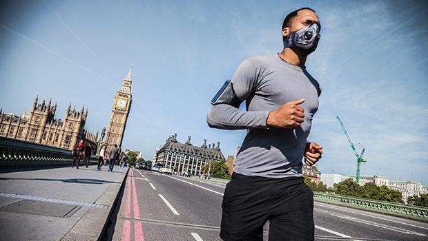 correr con altos niveles de contaminación